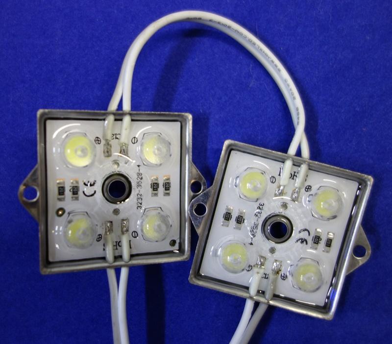 Светодиодный прожектор уличный - устройство, фото снаружи
