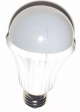 Светодиодная лампа 7 Вт Е27 цвет белый теплый